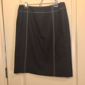 Linda Allard Ellen Tracy skirt w great stitching